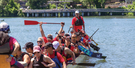 Dragon Boating Comes to Austin
