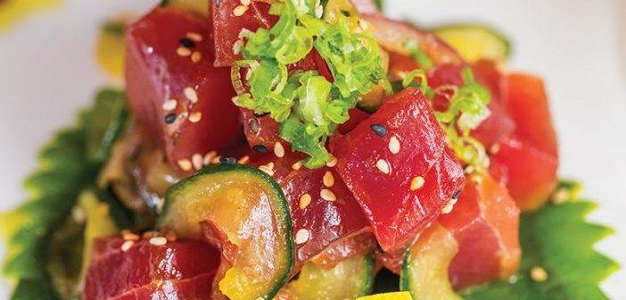 Recipe of the Month: Tuna Poke